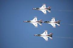 Thunderbirds d'armée de l'air des États-Unis Images stock