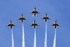 Thunderbirds da força aérea de E.U. imagens de stock