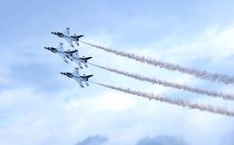 Thunderbirds da força aérea de Estados Unidos Fotografia de Stock