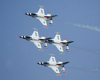 Thunderbirds de l'U.S. Air Force Images stock