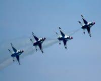 Thunderbirds de l'U.S. Air Force image libre de droits
