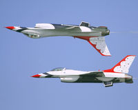 Thunderbirds de l'U.S. Air Force photographie stock