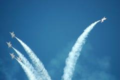 Thunderbirds de la fuerza aérea Imagenes de archivo