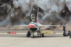 Thunderbirds de la fuerza aérea de Estados Unidos Foto de archivo libre de regalías