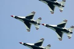 Thunderbirds de la fuerza aérea de los E.E.U.U. Imagen de archivo libre de regalías