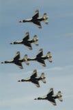 Thunderbirds de USAP imagens de stock royalty free