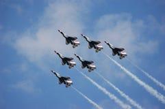 Thunderbirds del U.S.A.F. Fotografia Stock