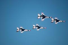 Thunderbirds dell'aeronautica Fotografia Stock