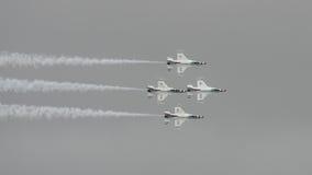 16 thunderbirds di f Fotografie Stock Libere da Diritti
