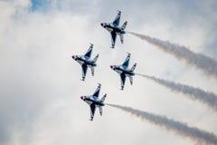 Thunderbirds em Diamond Formation Fotos de Stock Royalty Free