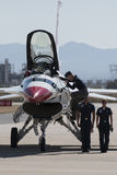 Thunderbirds för Förenta staternaflygvapen arkivfoto