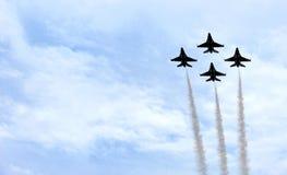 Thunderbirds för Förenta staternaflygvapen Royaltyfri Bild