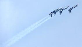 Thunderbirds för Förenta staternaflygvapen Fotografering för Bildbyråer