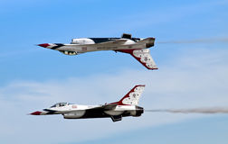 Thunderbirds Flight Stock Photography