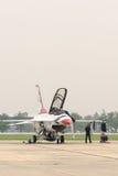 Thunderbirds (força aérea de E.U.) Fotos de Stock Royalty Free