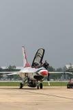 Thunderbirds (força aérea de E.U.) Foto de Stock Royalty Free