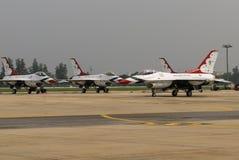 Thunderbirds (força aérea de E.U.) Fotografia de Stock Royalty Free