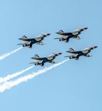 Thunderbirds in formation Royalty Free Stock Photography
