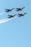 Thunderbirds in formation Stock Photography
