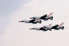 Thunderbirds (l'Armée de l'Air d'USA) Photographie stock libre de droits