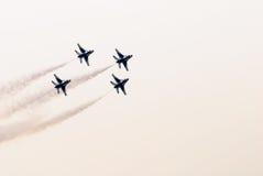 Thunderbirds (l'Armée de l'Air d'USA) Images stock