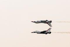 Thunderbirds (l'Armée de l'Air d'USA) Image libre de droits