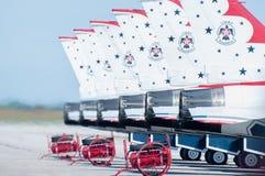Thunderbirds prontos para partir. Foto de Stock