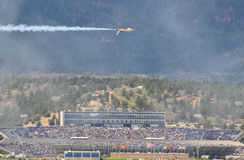 Thunderbirds Show at the US Air Force Graduation Stock Images