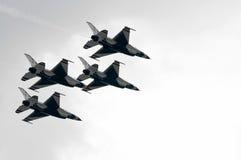 Thunderbirds (U.S.A.F) royalty-vrije stock fotografie