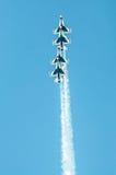 Thunderbirds in vorming Stock Foto's