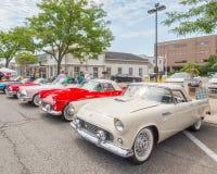 Thunderbirds at the Woodward Dream Cruise Royalty Free Stock Photo