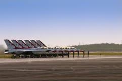 Thunderbirdsnachmittag Lizenzfreie Stockfotografie
