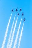 Thunderbirdy w formaci Fotografia Stock