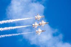 Thunderbirdy w formaci Obraz Royalty Free