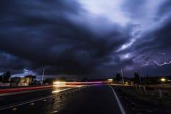 Thunderbolt в моем пути Стоковое Изображение