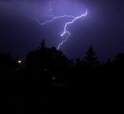 Thunderbolt royalty free stock photo