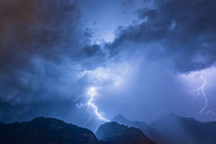 thunderbolt Images libres de droits