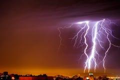 thunderbolt Arkivfoto