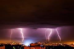 thunderbolt Arkivbilder