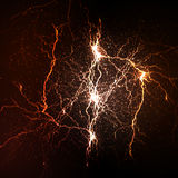 Thunderbolt flash background Royalty Free Stock Photography