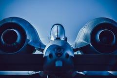 Thunderbolt II da república A-10 de Fairchild Fotografia de Stock