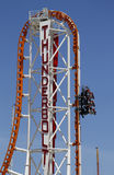 The Thunderbolt roller coaster at Coney Island in Brooklyn Royalty Free Stock Images
