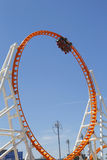 The Thunderbolt roller coaster at Coney Island in Brooklyn Stock Photo