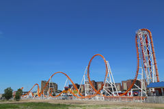 The Thunderbolt roller coaster at Coney Island in Brooklyn Stock Image