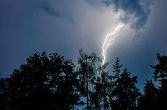 Thunderbolts stock photo