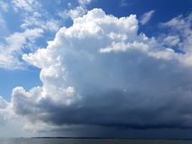 thundercloud Stockfoto