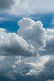 Thundercloud birth Royalty Free Stock Images