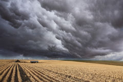 The thundercloud on Montana Stock Photos