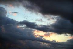thunderclouds Стоковые Изображения RF