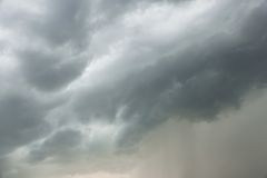 Thunderclouds Stock Images